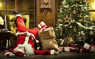 Дед Мороз и Снегурочка в школу или садик