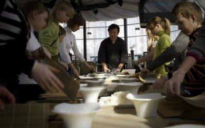Детский мастер-класс по японской кухне