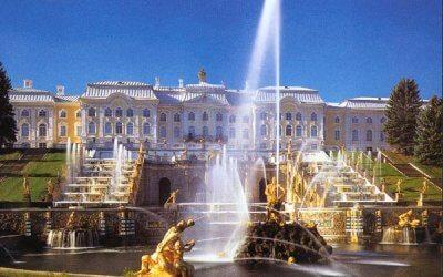 Императорская резиденция - блистательный Петергоф!