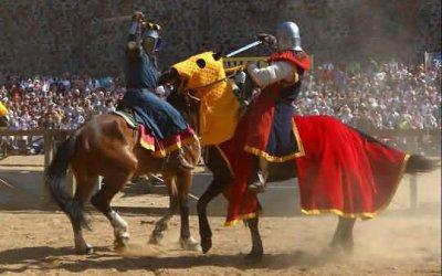 Храбрые рыцари и прекрасные дамы - замок Гоя