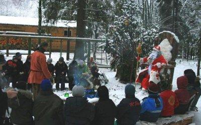 Новогодние программы в Токсово