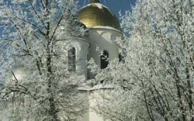 Новогодний Великий Новгород