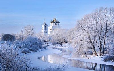 Новогодняя псковская земля (Псков-Изборск-Печеры)