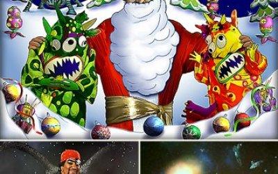 Новый год в космосе и дискотека