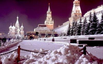Новый год в Москве.
