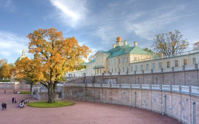 Ораниенбаум + Меньшиковский дворец