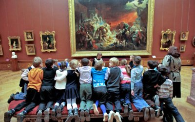 Первое знакомство с музеем - экскурсия в Русский музей