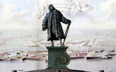 Первый архитектор Петербурга Д. Трезини