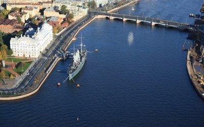 Петербург - город военно-морской славы. С посещением крейсера