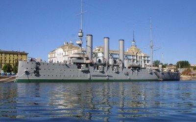 Петербург - город военно-морской славы!