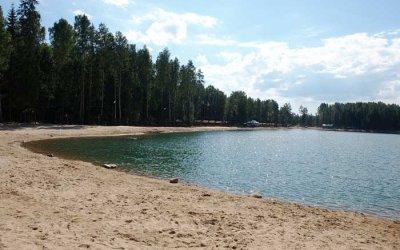 Пикник на озере Лазурное