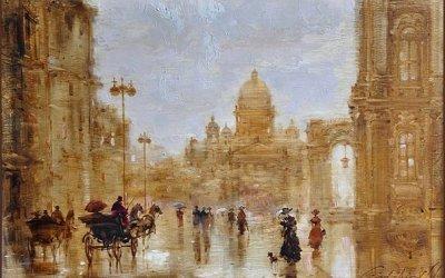 «Поиск карты старого Петербурга»