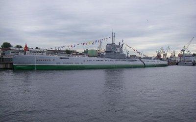 Посещение подводной лодки С-189/Народоволец и крейсера Аврора