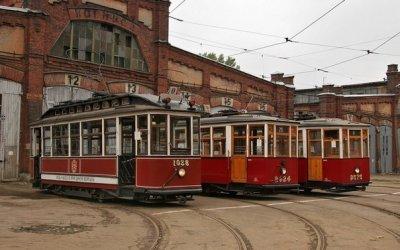 Прогулки на ретро-трамвае (день рождения, выпускной)
