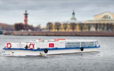 Теплоходная экскурсия по рекам и каналам Петербурга