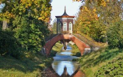 Выпускной в Александровском парке Царского села